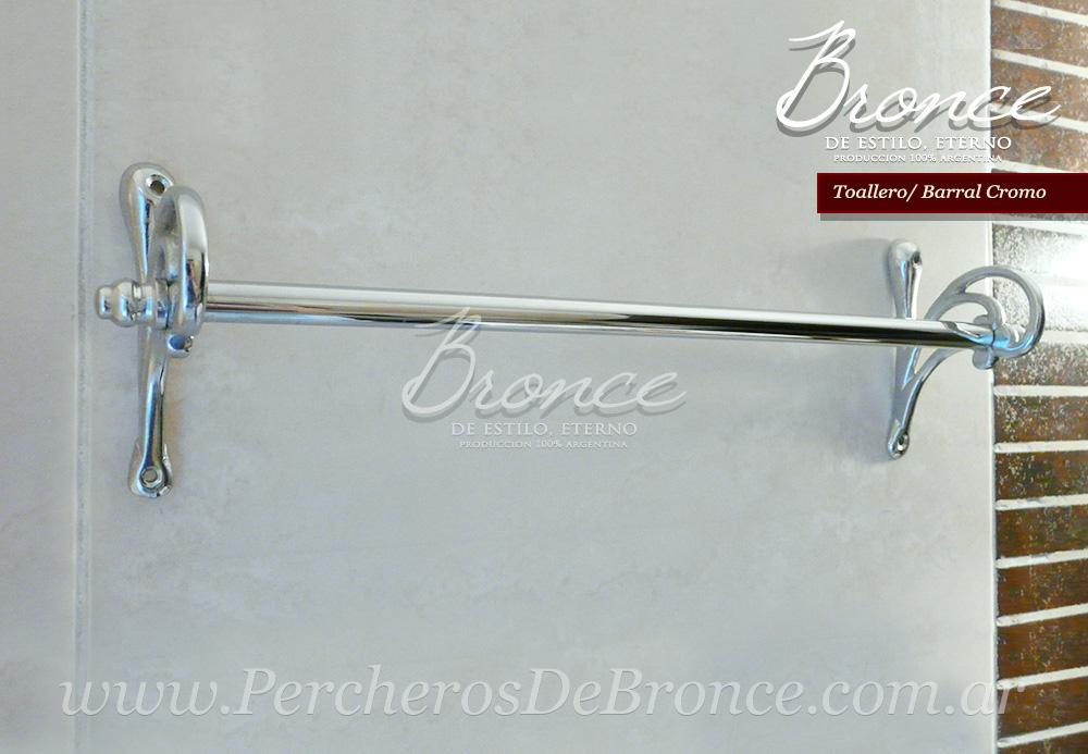 Accesorios De Baño Colocados:Percheros de Bronce, accesorios para baños, ideas decoracion de
